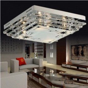 LED水晶吸顶灯50CM
