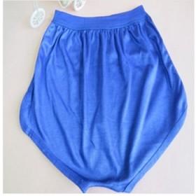 包邮加大加肥男士三角裤中老年纯色透气宽松平角内裤