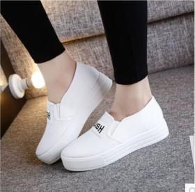 乐福鞋女厚底松糕鞋