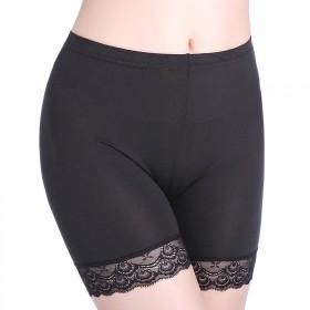 一条装女士三分安全裤蕾丝防走光打底裤