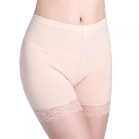 三分裤加肥加大码保险裤五分裤蕾丝安全裤防走光