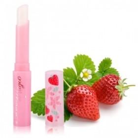 泰国 Mistine 草莓变色润唇膏补水保湿滋润唇