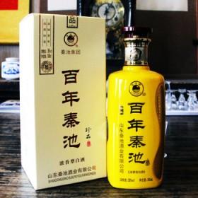 秦池白酒特价浓香型38度白酒500毫升礼盒礼品酒