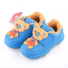 冬款加绒加厚学步鞋1-2-3岁男女儿童棉鞋
