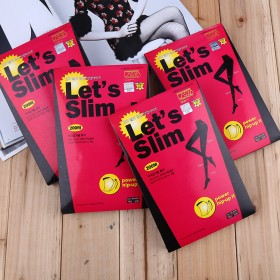 韩国Let's Slim正品瘦腿袜高弹力紧身连裤袜