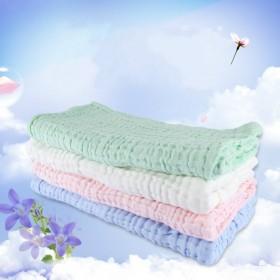 婴儿6层超柔水洗纱布大浴巾