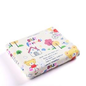婴儿隔尿垫大号防水透气纯棉可洗生理垫新生儿童用品