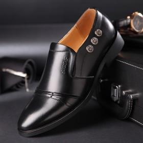 红蜻蜓男皮鞋商务正装男鞋