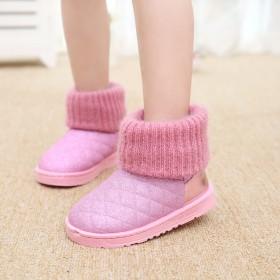 儿童雪地靴女童靴子
