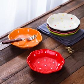 7寸陶瓷汤盘汤盘4个装