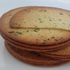 旺利达 酥脆超薄甜味饼干海苔紫薯味750克