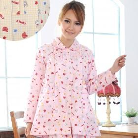 春季纯棉月子服长袖孕妇睡衣哺乳衣产后喂奶衣