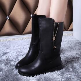 新款平跟雪地中筒冬靴女鞋特价热卖秋人气新品
