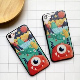 iphone6/6s/7/plus和风怪兽手机壳