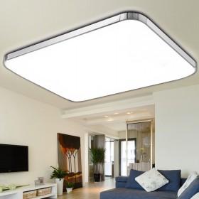 LED吸顶灯长方形遥控现代简约大气客厅灯具卧室灯