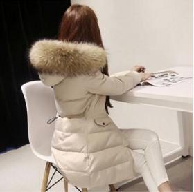 【秒杀】韩版白鸭绒羽绒服外套亏本清仓限时抢