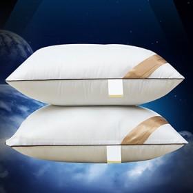 五星级酒店羽绒枕头枕芯单人
