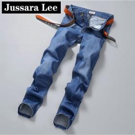 jussara lee青年男士牛仔裤2017春新款
