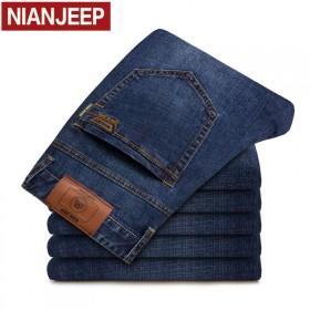 NIANJEEP/吉普盾品牌春季新款男士牛仔裤商务