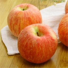 山西农家不打蜡新鲜水果红富士苹果2017年货5斤包