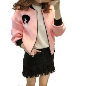 2017春秋新款韩版修身短款加绒加厚长袖卫衣女宽松