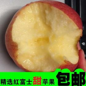 (限制地区)红富士苹果非烟台5斤包邮孕妇水果冰糖心
