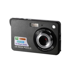 正品超薄1800万高清像素家用数码照相机带自拍摄像