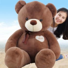 情人节送女友孩子毛绒玩具泰迪熊布娃娃玩偶生日礼物