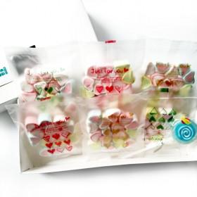 礼盒(90颗)送棒糖爱心浓浓棉花糖情人节生日