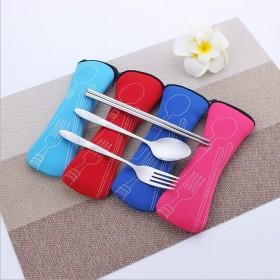 不锈钢餐具3件套广东省内拍下马上发货