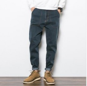 【 赠运费险】加绒不加绒可选,显瘦男宽松大码牛仔裤
