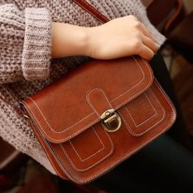 小方包女士邮差包时尚女包复古单肩包斜挎包手机小包包
