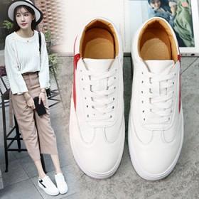 小白鞋女2017新款春季平底板鞋白色运动鞋