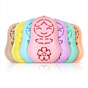 3七彩迷你暖手娃娃暖手宝加8暖芯