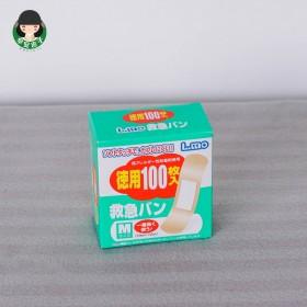 日本LMO创可贴100片 防水隐形透气创口贴防磨脚