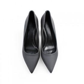 粗跟高跟鞋女真羊皮7-9cm 免费试穿 多色可选