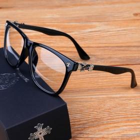 薛之谦同款眼镜男女复古大框防辐射平光镜配成品近视眼