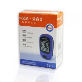 艾科灵睿血糖测试仪送两片独立包装试纸针头