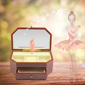 音乐盒八音盒 女生创意公主结婚生日礼物送女友首饰盒
