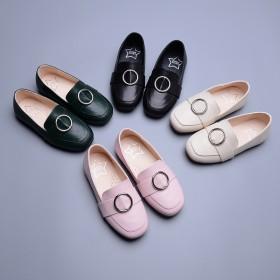 【元宵后发货】女童豆豆鞋韩版公主鞋