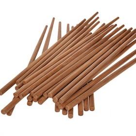 无漆无蜡碳化竹筷30双入