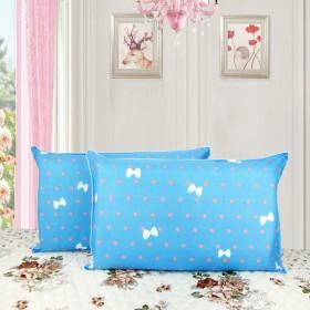 一对装芦荟棉植物印花枕套 多色可选