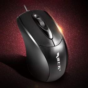 键上飞电脑usb有线办公游戏笔记本商务迷你鼠标