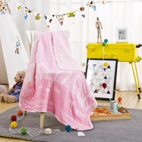 纯棉纱布提花盖毯 婴童夏被 空调毯 夏凉被