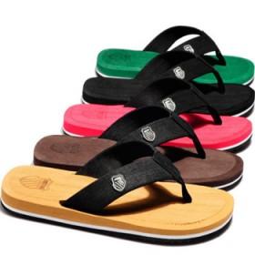 韩版夏季小贝男拖鞋潮流沙滩鞋人字拖夹趾防滑厂家自营