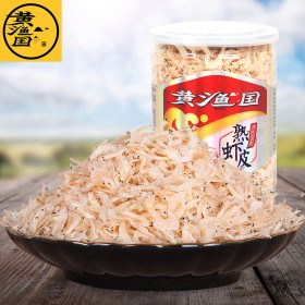 黄渔国 熟虾皮 虾米 海米 干货 即食 宝宝