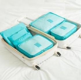 旅行收纳袋套装 行李箱整理包旅游衣服收纳袋六件套
