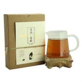 黑茶湖南安化茯砖茶金花手筑茯砖