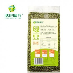 膳食魔方绿豆500g