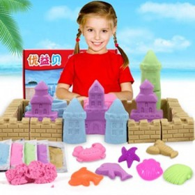 DIY魔力沙 百变超轻粘土套装配46模具